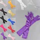 Hot Women Evening Party Opera Bridal Wedding Satin Arm Hand Sleeve Long Gloves