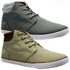 MENS DESIGNER VOI JEANS HI TOP ANKLE CANVAS TRAINERS PLIMSOLLS SHOES PUMPS
