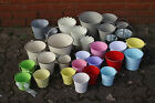tin zinc buckets HUGE CHOICE choose size and colour wedding sweet trees gifts