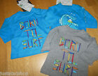 Quiksilver baby boy top t-shirt 0-3, 3-6 m BNWT grey blue  born to surf