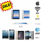 Apple iPad Air,Mini,2,3rd,4th|WiFi 3G / 4G AT&T,T-Mobile,Verizon|16GB-128GB Tablet