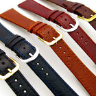 Slim Supple Leather Watch Band Strap Denver 16mm 18mm 20mm