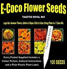 TAGETES ROYAL MIX SEEDS, 100 SEEDS IN EACH PACKET