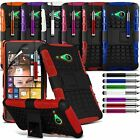 Dual Layer Shock Proof Rugged Stand Builders Hard Case fits Nokia Lumia 730 735