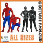 Spiderman Skin Suits Spider Man Zentai Suit Fancy Dress Costume All Sizes