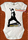 BRUCE LEE baby onesie 100% COTTON karate kung fu star chinese martial arts kato