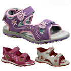 **GIRLS SUMMER SANDALS INFANTS NEW BABY TODDLERS WALKING VELCRO BEACH SHOES SIZE