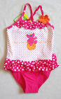 Girls Swimsuit 1pc Licensed Sesame Street Elmo Pink/White Size 1,2 Brand New!!!