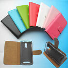 For ARCHOS 45 Neon--Wallet Folder Stand Flip PU Leather Case Cover