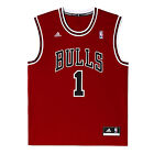 adidas Chicago Bulls Replica NBA Basketball Jersey #1 Rose