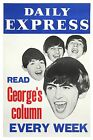 0348  Vintage Music Poster Art  Read Georges Column Beatles  *FREE POSTERS