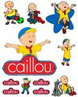 Caillou Iron On T Shirt / Pillowcase Fabric Transfer #2
