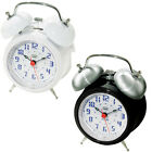 Trevi Retro Bell Alarm Clock Back Light Snooze Function  FREE DELIVERY