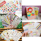 8/10/12/24 Sheet Calendar Diary Notebook Memo Scrapbook Paper Decoration Sticker