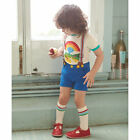 Little Bird Boy's by Jools Blue Chino Shorts with Braces
