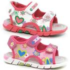 Girls Summer Sandals Infants Toddlers Tripple Velcro Walking Beach Shoes Size
