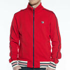 Mens Fila Marzia Chinese Red Track Top