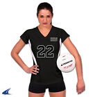"NEW Champro VS1 Women's Adult 2.5"" Spandex Volleyball Shorts Black"