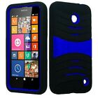BUILT IN SCREEN PROTECTOR Case Cover For Nokia Lumia 635 / 630 / RM-977 RM-1078