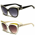 Black Women's Cat Eye Sunglasses Retro Classic Vintage Design Fashion Shades w
