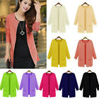 G Fashion Womens Casual Knitted Long Cardigan Outerwear Loose Sweater Coat Tops