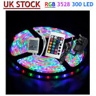 5M 10M 15M 20M 25M 30M 3528 300 LED RGB SMD Strips Light 12V Controller Adapter