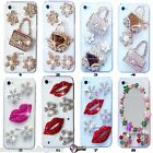 NEW 3D BLING DELUX DIAMANTE SPARKLE CASE COVER FOR SAMSUNG iPHONE SONY HTC 5 6 7