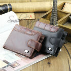 Mens Luxury Soft Leather Wallet Credit Card Holder Purse High Quality
