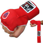 VELO Inner Hand Wraps Gloves Boxing Padded Bandages MMA Fist Muay Thai UFC Red