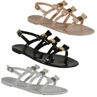 NEW WOMENS LADIES STRAP BUCKLE SLINGBACK OPEN TOE FLAT SUMMER SHOES SANDALS SIZE
