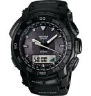 Casio ProTrek Triple Sensor Solar Digital Analog watch PRG550-1A1 PRG550-1A1CR