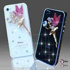 NEW 3D DELUX LUXURY BLING PINK ANGEL DIAMANTE CASE 4 IPHONE SAMSUNG SONY HTC ETC