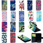 PU Magnetic Leather Wallet Card Cover Stand Flip Case For Apple iPhone Series