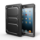 Impact Rugged Dual Layer Hybrid Full Protective Case Cover for iPad mini 3/2/1