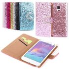 NEW LUXURY Glitter SLIM WALLET Flip Case Cover Hotest For Samsung Galaxy Note 4