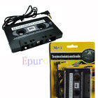 Car AUX Audio Tape Cassette Adapter FOR Apple iphone ipod itouch hot new