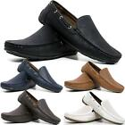 Mens New Slip On Casual Boat Deck Mocassin Designer Loafers Driving Shoes Size