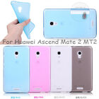 For Huawei Ascend Mate 2 MT2 Ultra-thin Soft Silicone Matte Back Skin Cover Case