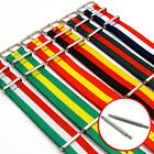 NATO Tough Nylon Military Watch Strap Band National Flag Colours Stripes 18-22mm