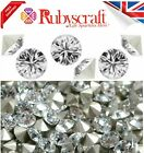 SWAROVSKI CHATON CLEAR CUT CRYSTALS FOILED POINTED BACK XIRIUS 1088