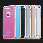 For iPhone 4S 5 5S 6 Plus Ultra Thin 0.5mm Anti-Scratch Acrylic Soft Case Cover