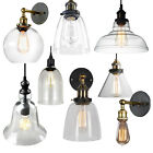 Vintage Glass Lamp Shade Ceiling Light Pendant Wall Lamp Wall Sconce Fixture Bar