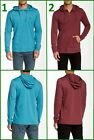 Volcom Men's Hoodie Henley Tee Various Colors and Sizes