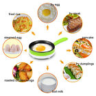 Multifunction Mini Automatic Electric Egg Boiler Cooker Food Steamer Pan-fried N