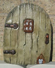 Large Mouse Fairy Door Garden Wall Plaque/ornament - Hand Cast & Painted