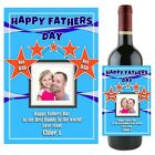 Personalised Happy Fathers Day Wine Champagne Bottle Label N56 Great Gift Idea