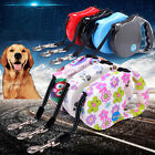 Pet Dog Cat Puppy Automatic Retractable Traction Rope Walking Lead Leash Cord