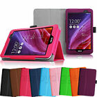 Slim Folio Leather Case w Stand Cover for ASUS MeMO Pad 7 ME176CX ME176C Tablet