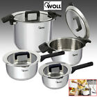 WOLL COOKWARE KITCHEN SET STAINLESS STEEL COOKING FOOD ROASTER ROASTING PAN POTS
