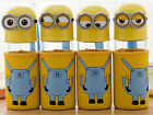Despicable Me 2 3D Minions Water Drinks Glass Bottle Cup 300ml New Free Shipping